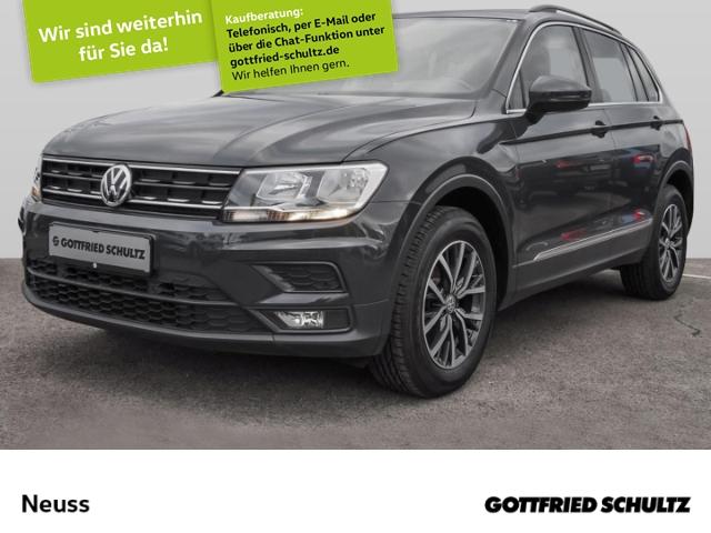 Volkswagen Tiguan 1,4 TSI NAVI BT LM PDCvo&hi EU6 Comfortline, Jahr 2017, Benzin