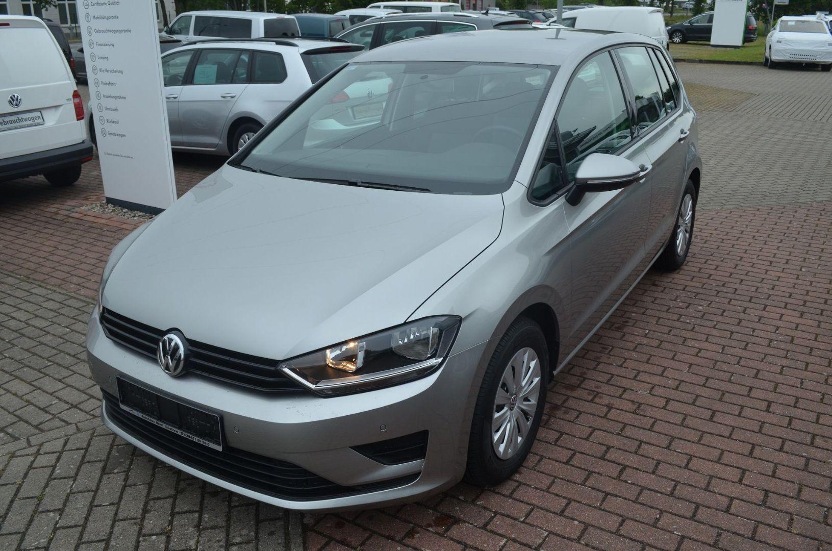 Volkswagen Golf Sportsvan Trendline 1.2 TSI Klima PDC, Jahr 2014, Benzin