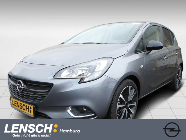Opel Corsa E 1.4T 5T Color Edition KLIMAAUT+SITZH+PDC, Jahr 2019, Benzin