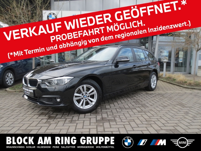 BMW 318d Touring SH PDC Klima Navi LED, Jahr 2018, Diesel