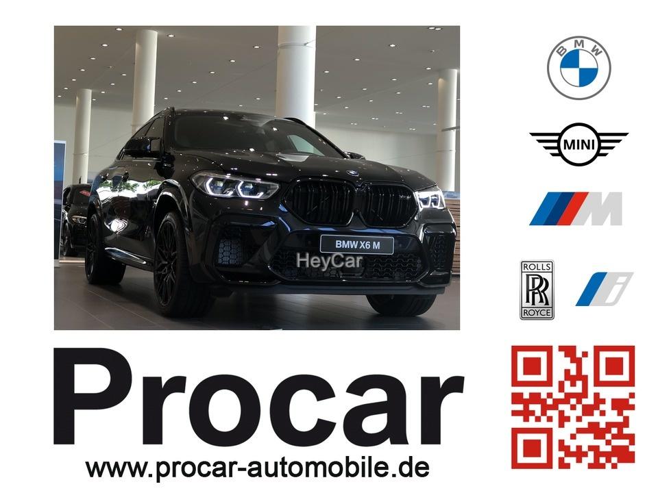 BMW X6 M COMPETITION Pano B&W DA Prof SoftCl AHK TV+, Jahr 2020, Benzin