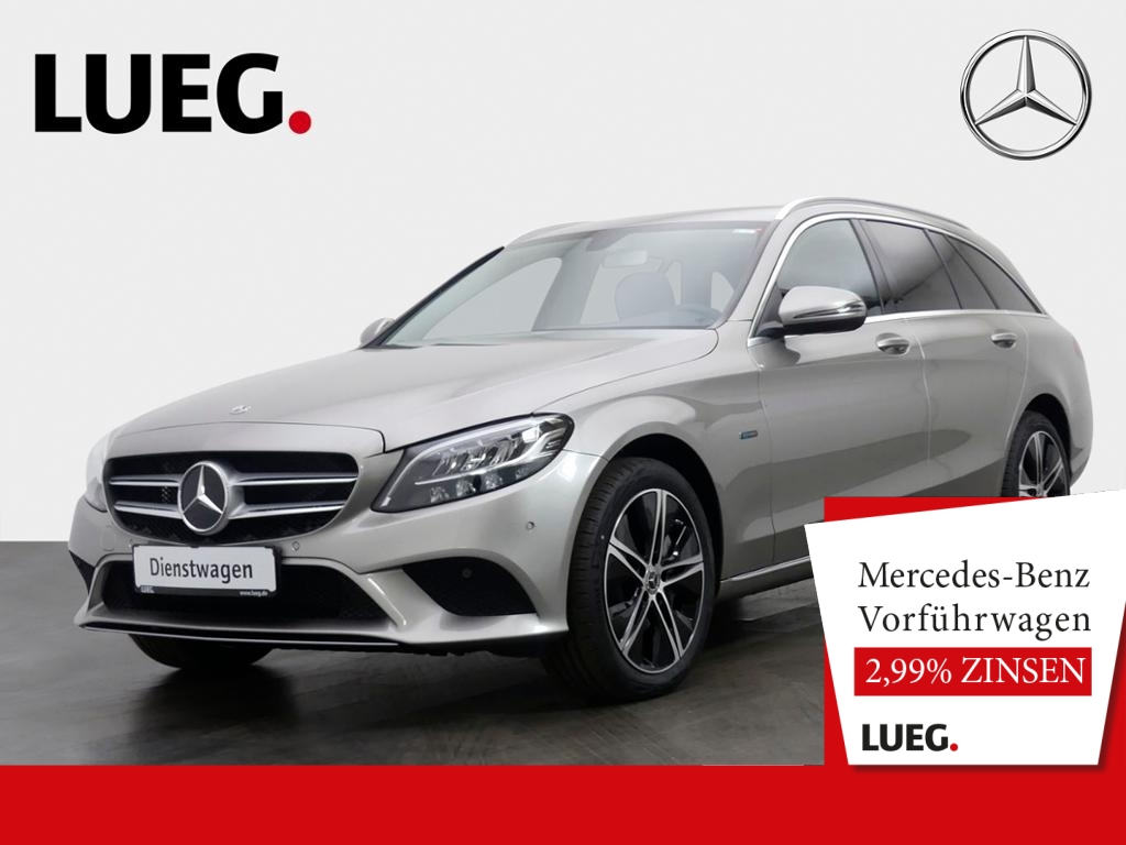 Mercedes-Benz C 300 de T AVANTGARDE+18''+AHK+LED+KAMERA+PTS+SH, Jahr 2020, Hybrid_Diesel