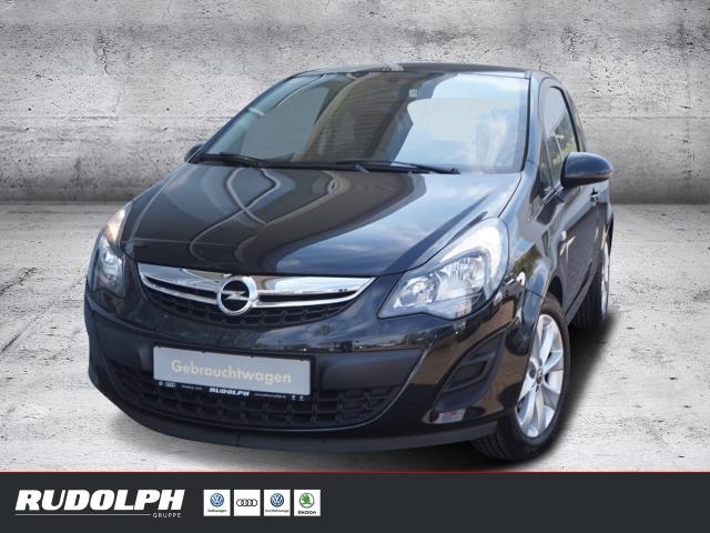 Opel Corsa 1.2l Active AUX-In MP3 Radio CD Temp, Jahr 2013, Benzin