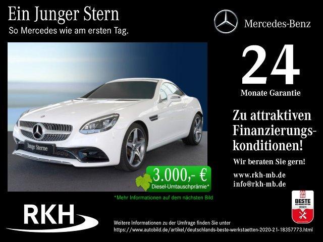 Mercedes-Benz SLC 200 AMG COMAND/LED ILS/SHZ/Spiegel-Paket, Jahr 2017, Benzin