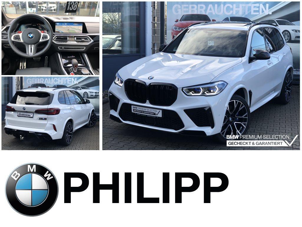 BMW X5 M Competition Massage Laser Pano B&W PA+ DA+, Jahr 2020, Benzin