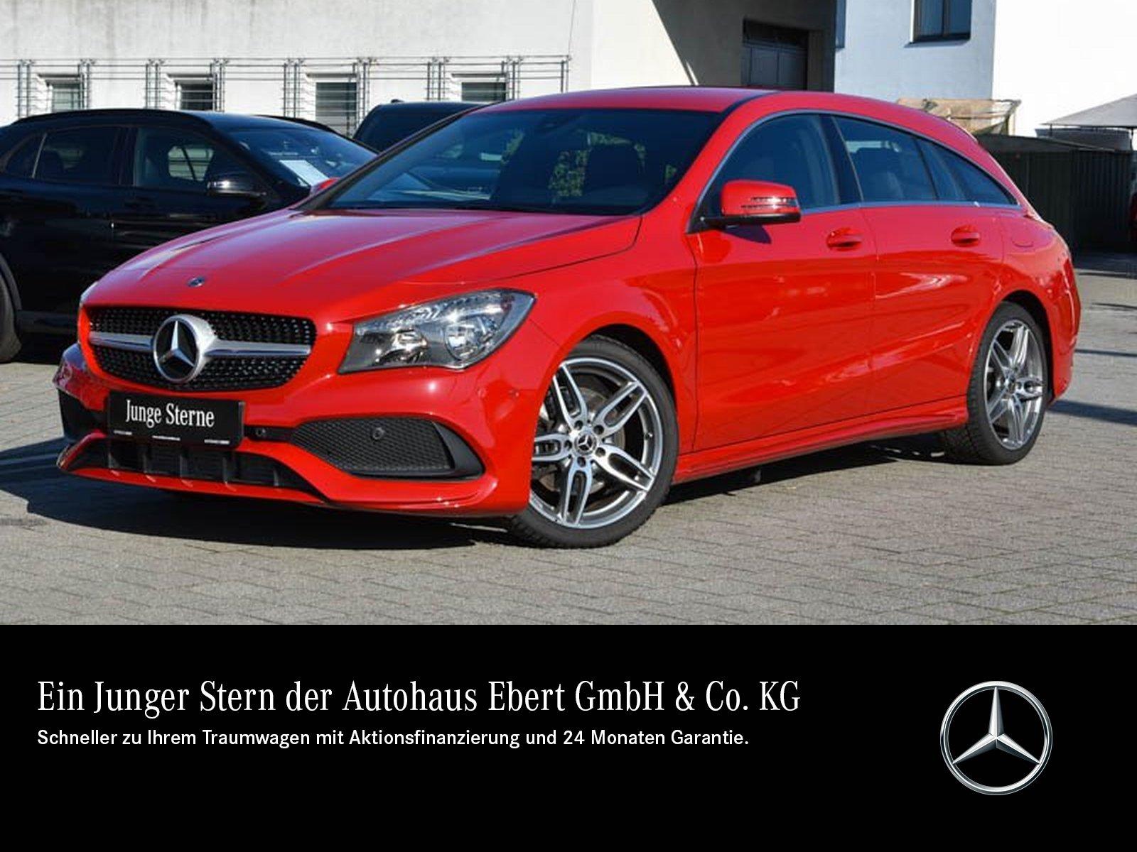 Mercedes-Benz CLA 250 SB AMG 7G-DCT+NAVI+RFK+BUSINESS, Jahr 2017, Benzin
