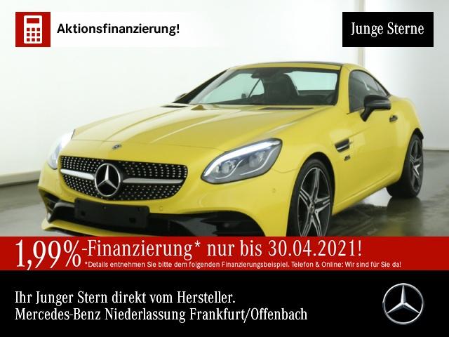 Mercedes-Benz SLC 300 Final Edition AMG Pano ILS COMAND Memory, Jahr 2019, Benzin