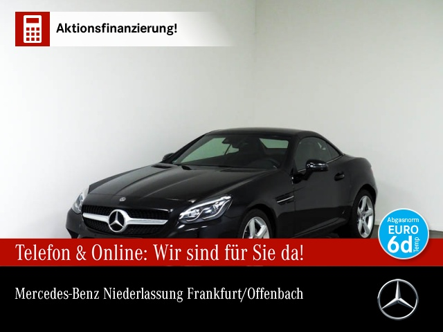 Mercedes-Benz SLC 300 Pano ILS COMAND PTS Airscarf Memory PTS, Jahr 2019, Benzin