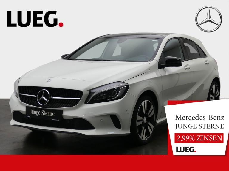 Mercedes-Benz A 250 Urban+Navi+Pano+LAD-HP+Night+18+ParkAssist, Jahr 2016, Benzin