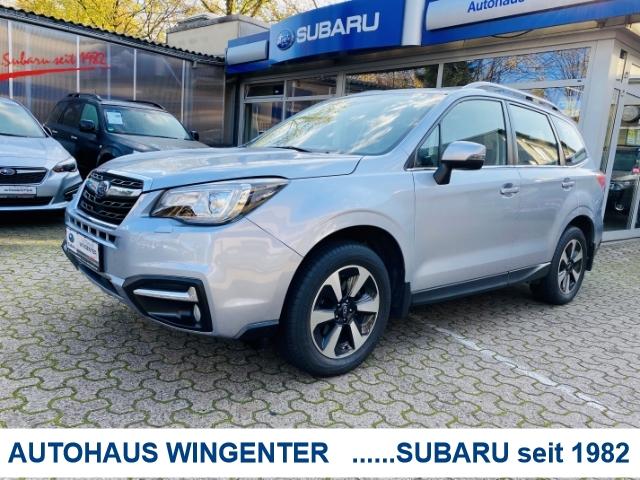 Subaru Forester Exclusive 2.0i Lineatronic*AHK*LED Kurvenlicht, Jahr 2016, Benzin