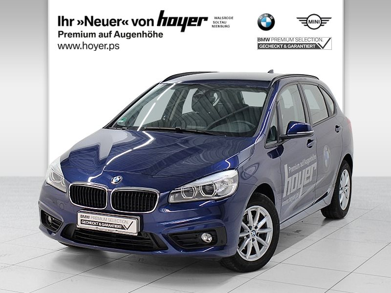 BMW 216i Active Tourer UPE 32.010,-€ Advantage LED Tempomat Shz, Jahr 2017, Benzin