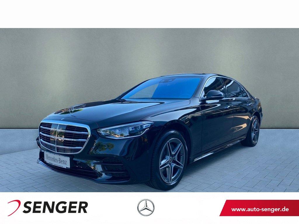 Mercedes-Benz S 500 4M Lang AMG Line Night Panorama Digital-L., Jahr 2021, Benzin