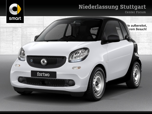 smart fortwo coupé 60kWed cool&Audio Dig Radio Tempom, Jahr 2018, Elektro
