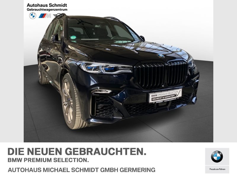 BMW X7 M50i NIGHT VISION+22 +AHK+INTEGRAL+ Head-Up, Jahr 2020, Benzin