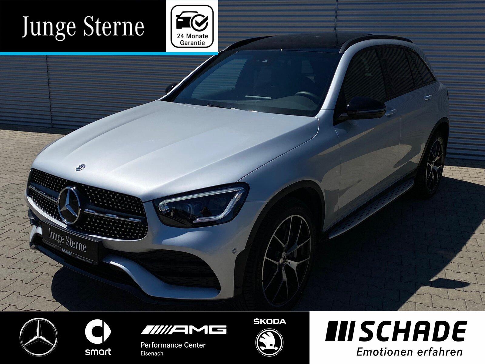 Mercedes-Benz GLC 400 d 4M AMGLine Night*Panorama*Airmatic*AHK, Jahr 2020, Diesel