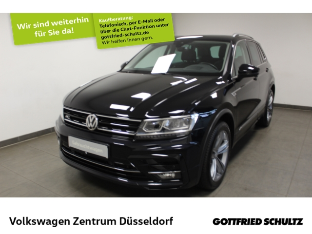 Volkswagen Tiguan Highline 2.0 TSI DSG 4Motion *Leder*Pano*Navi*LED*virt Cockpit*R-Line*, Jahr 2017, Benzin