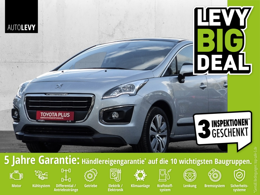 Peugeot 3008 e-HDI 115 ETG6 Active *Navi*SHZ*SKR/WKR*, Jahr 2015, diesel