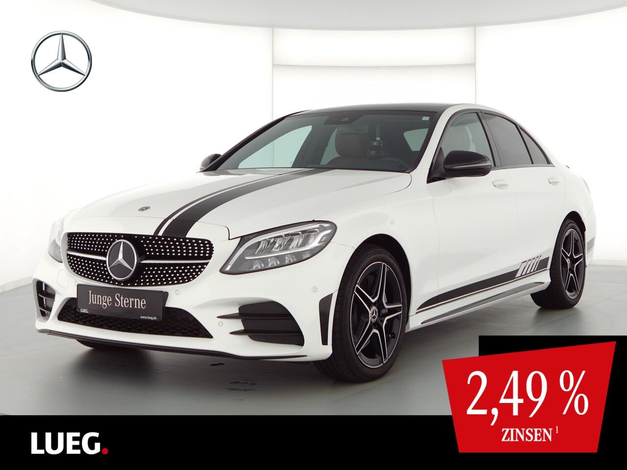 Mercedes-Benz C 300 4M AMG+Navi+Pano+LED-HP+Distr+SpurP+Kamera, Jahr 2019, Benzin