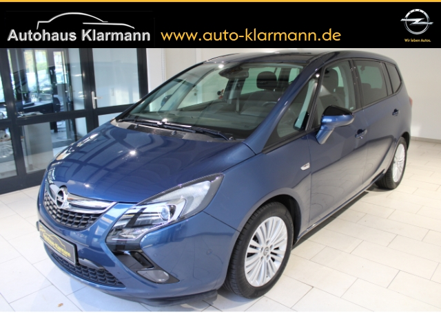 Opel Zafira Tourer C Edition 1.4 Turbo 7-Sitzer Navi Fernlichtass. PDCv+h LED-hinten Multif.Lenkrad, Jahr 2015, Benzin