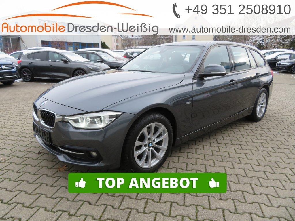 BMW 318 d Touring Sport Line*Navi*LED*Kamera*PDC*, Jahr 2017, Diesel