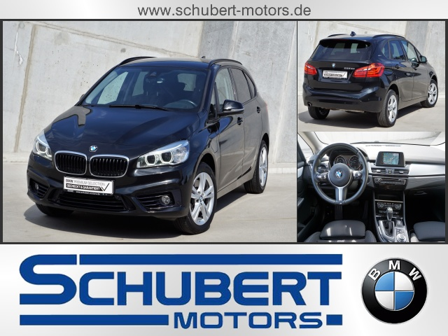 BMW 225xe iPerformance Sport Line LED Navi, Jahr 2016, petrol