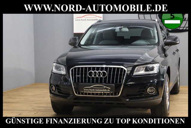 Audi Q5 2.0 TDI QU.*Teilleder*Navi*Bi-Xenon*AHK*, Jahr 2014, Diesel