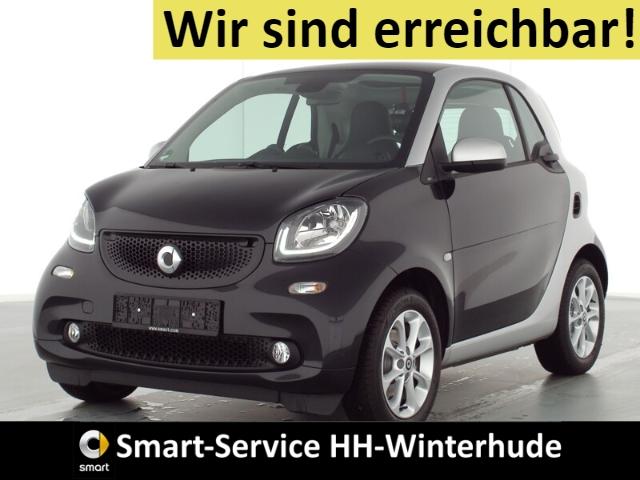 smart fortwo prime AUTOM+LEDER+SITZHZG+BT+USB+PANORAMA, Jahr 2019, Benzin