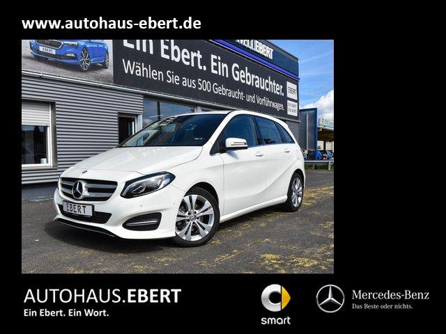 Mercedes-Benz B 200 Urban LED+TOTWINKEL+SPUR+SHZ+NAVI VORB, Jahr 2015, Benzin