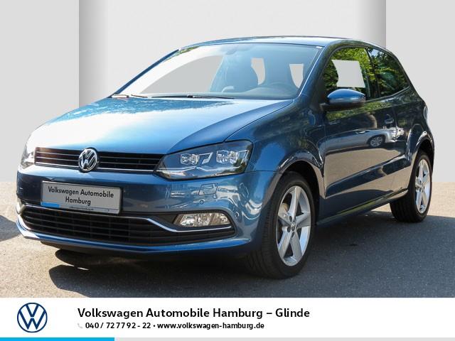 Volkswagen Polo 1.2 TSI Allstar/Xenon, Jahr 2016, Benzin