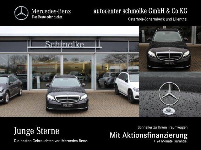 Mercedes-Benz C 300 T Exclusive COMAND*PTS*RFK*AMBIENTE*HEADUP, Jahr 2018, Benzin