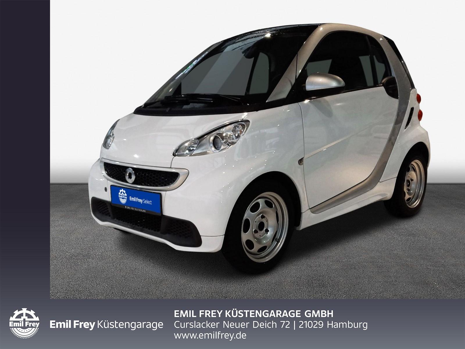 smart fortwo coupe Edition Whiteshade mhd, Klima, Radio, Jahr 2014, Benzin