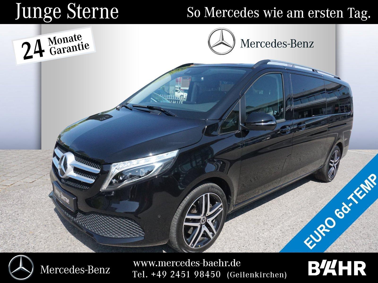 "Mercedes-Benz V 300 d Extralang Navi/ILS/360°/SHZ/8-Sitze/19"", Jahr 2019, diesel"