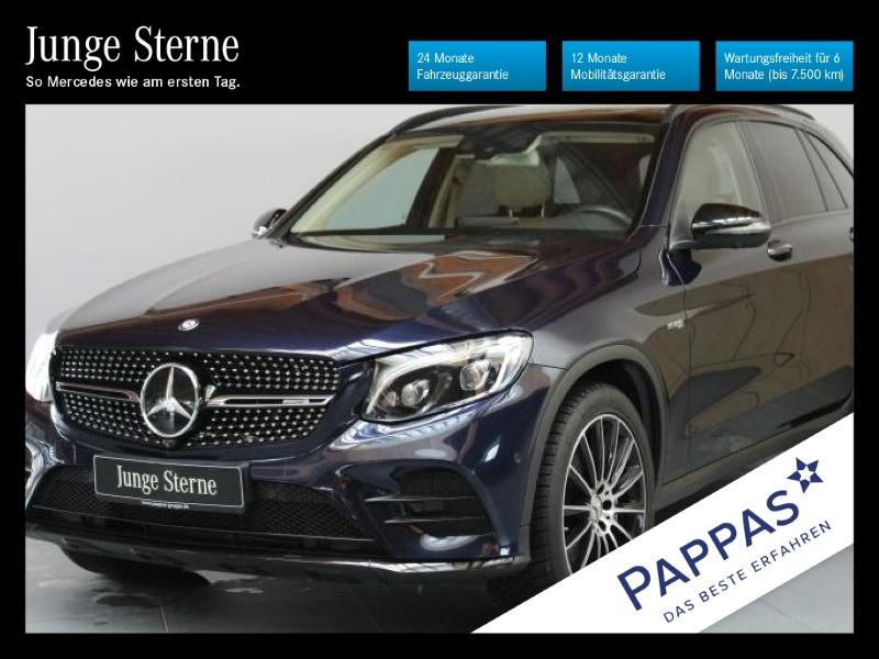 Mercedes-Benz GLC 43 AMG 4MATIC Pano.Dach+Navi+360°+Fahrassist, Jahr 2017, Benzin
