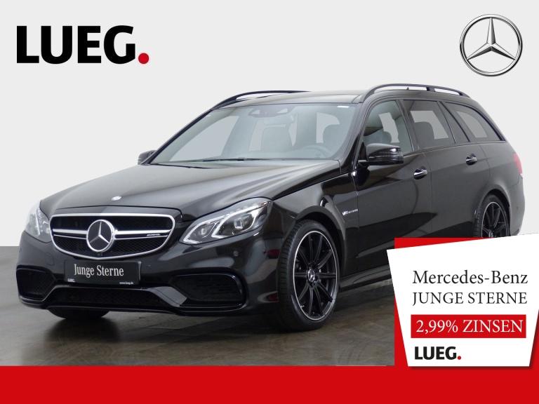 Mercedes-Benz E 63 AMG T 4M COM+Pano+Burm+LED+DrivP+Sitzkl+360, Jahr 2016, Benzin