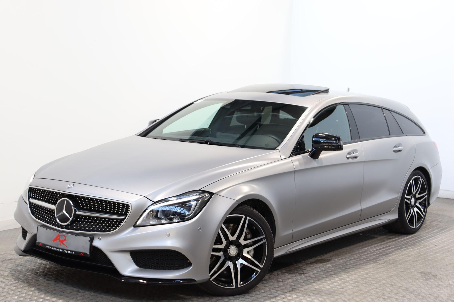 Mercedes-Benz CLS 500 Shooting Brake 4M AMG NIGHT MATTLACK,LED, Jahr 2016, Benzin
