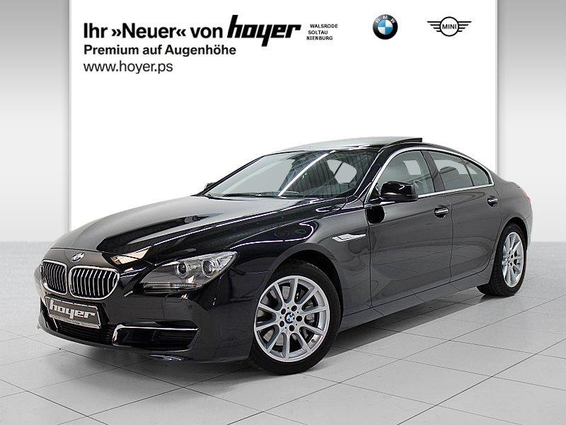 BMW 640i Gran Coupé HiFi Xenon Standhzg. GSD RFK, Jahr 2015, Benzin