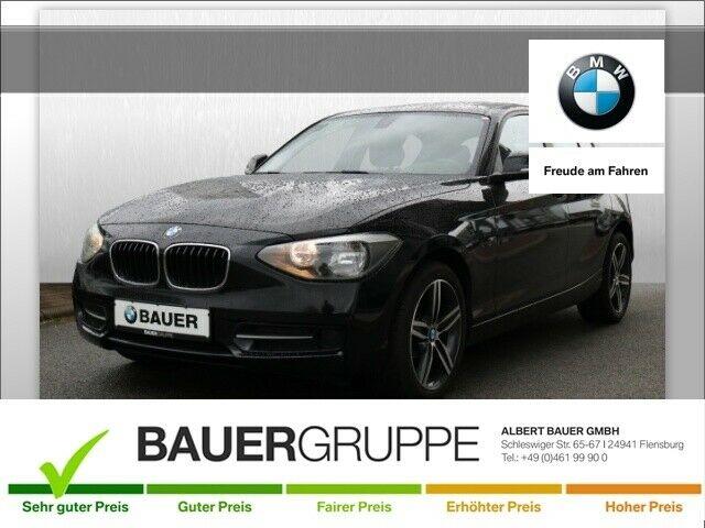 BMW 118 d Klima el. Fenster, Jahr 2012, Diesel