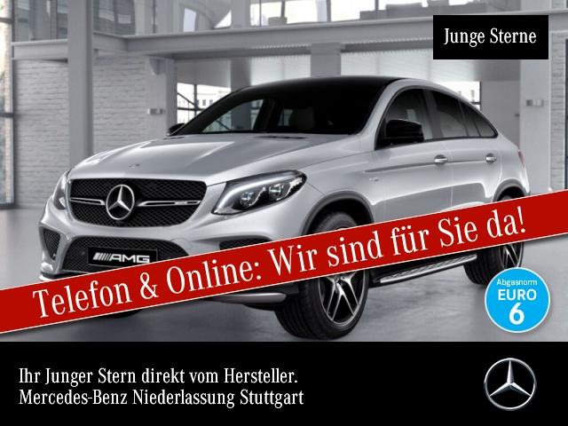 Mercedes-Benz GLE 43 AMG Cp. 4M 360° Stdhzg Pano COMAND ILS LED, Jahr 2016, Benzin