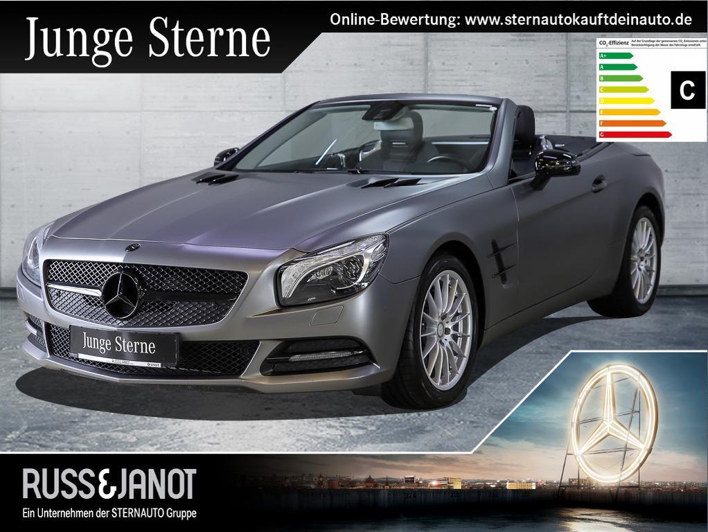 Mercedes-Benz SL 350 Airscarf+ILS+Comand+Harman+Sitzklima, Jahr 2014, petrol