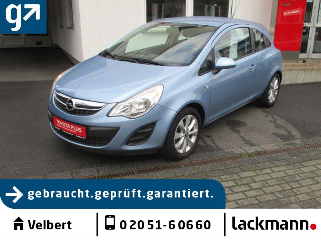 Opel Corsa 1.2 16V ecoFLEX Active*Elektro-Paket*, Jahr 2013, Benzin