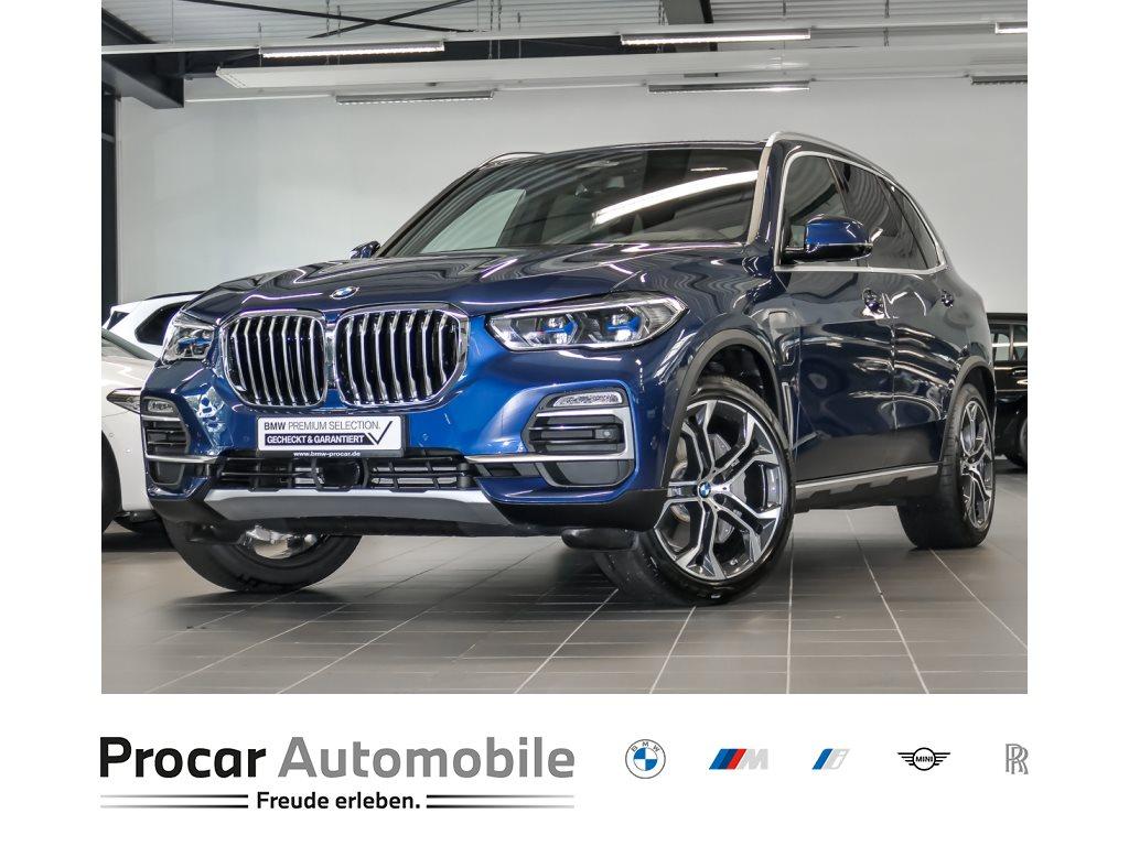 BMW X5 xDrive45e xLine HUD H&K DrivAssProf Laser AHK 21, Jahr 2020, Hybrid