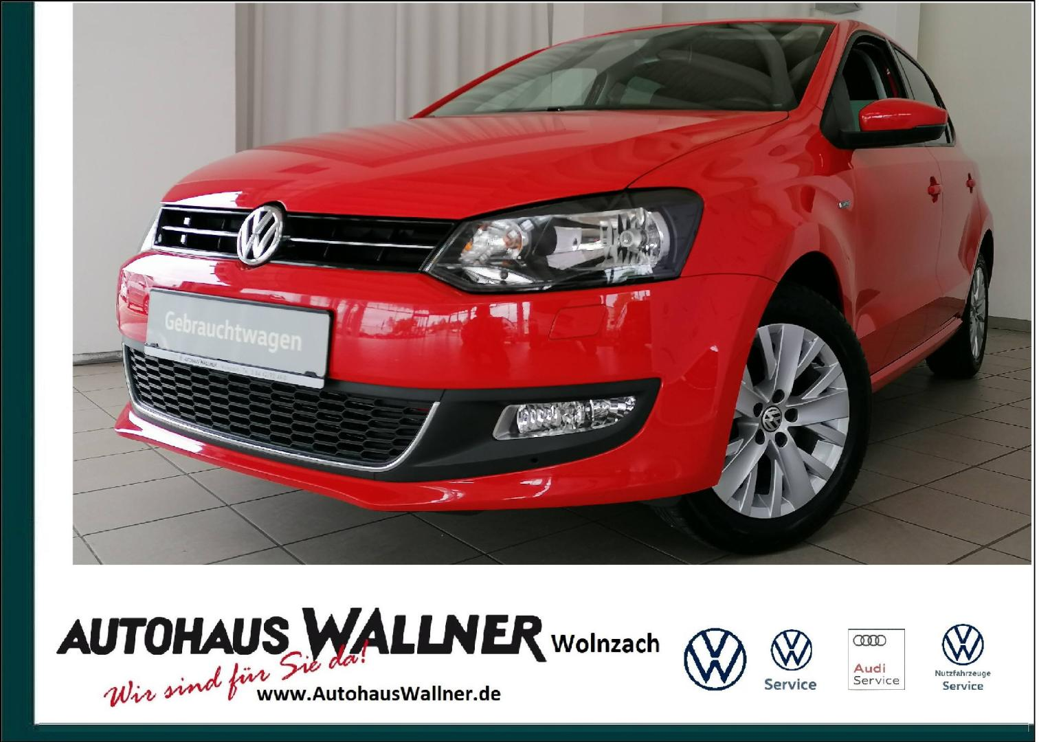 Volkswagen Polo Trendline 1.2 BMT Life, Jahr 2013, Benzin