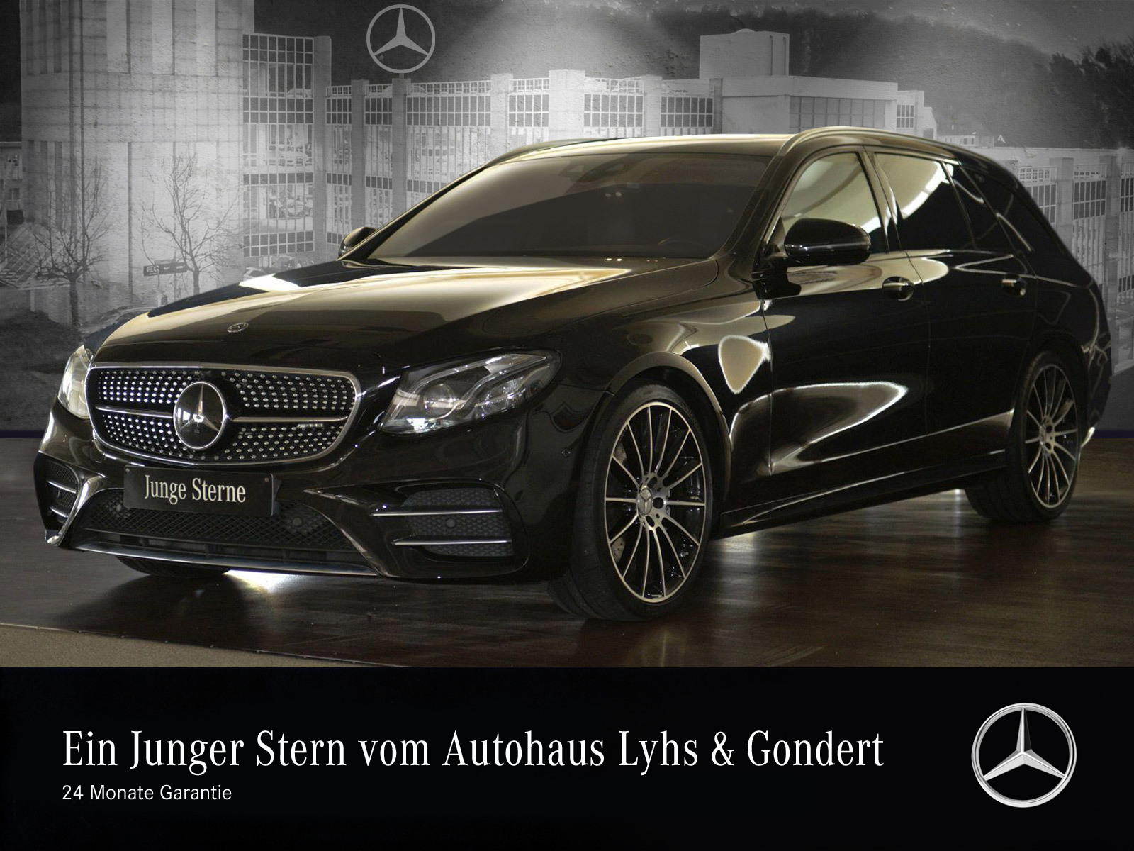 Mercedes-Benz AMG E 43 4MATIC T-Modell Comand Distronic 360°, Jahr 2017, Benzin