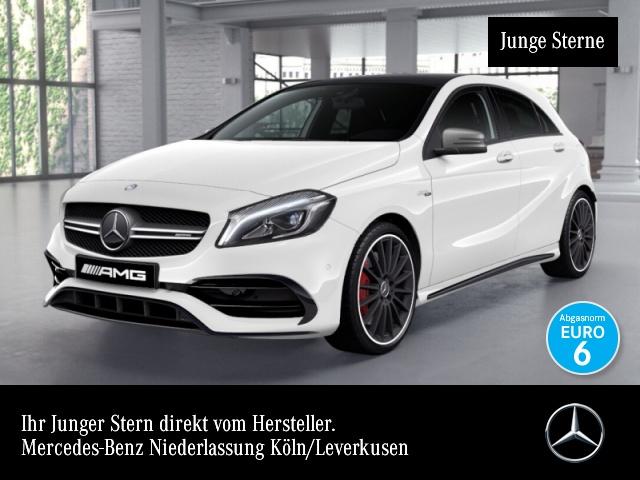 Mercedes-Benz A 45 AMG 4M Exkl-Paket Perf-Sitze Perf-Abgas Pano, Jahr 2015, petrol