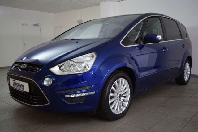 Ford S-MAX Titanium 1.6 Klima Navi PDC AHK, Jahr 2013, Benzin