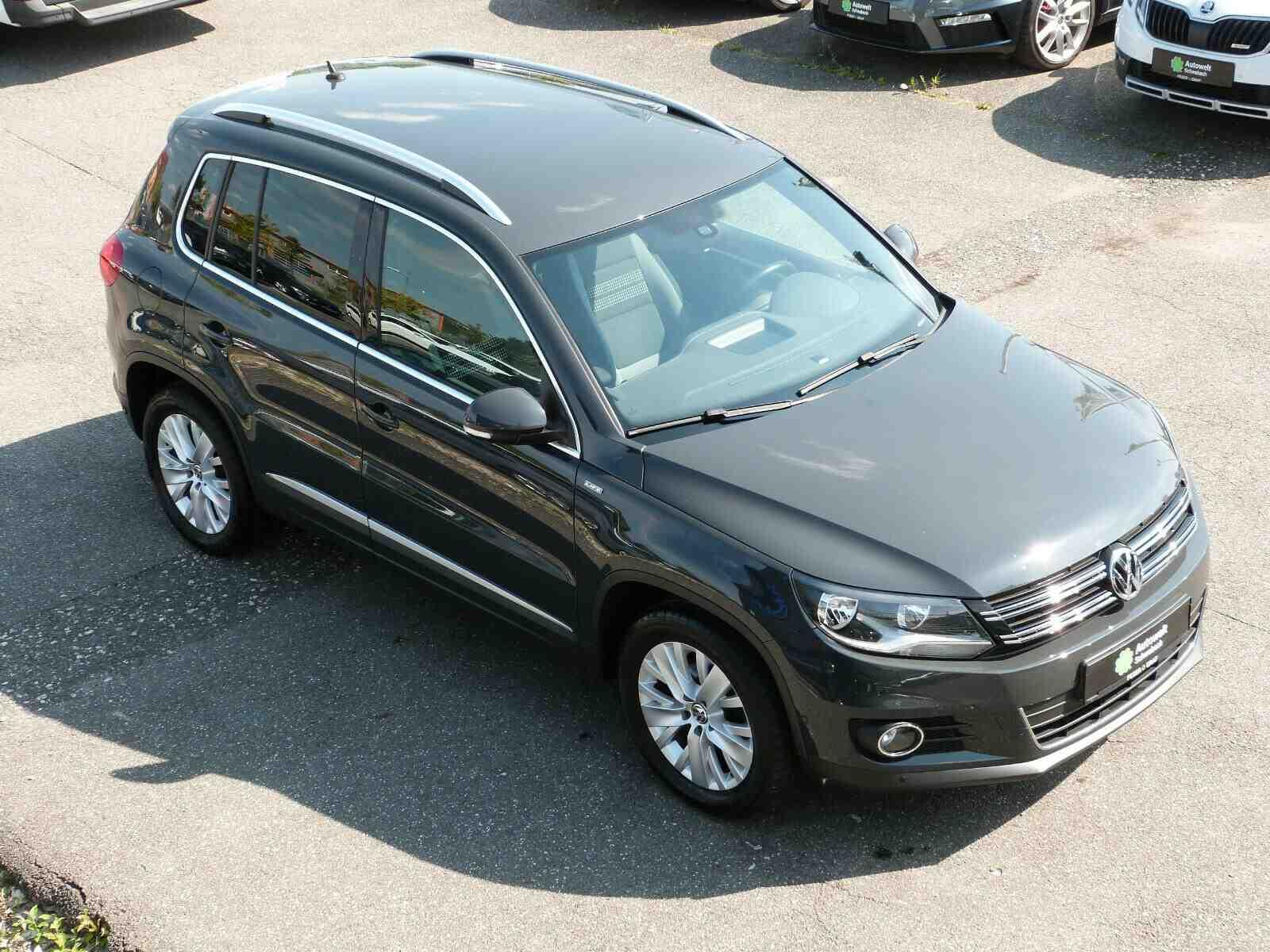 Volkswagen Tiguan 1.4 TSI Sport & Style Life AHK PDC SHZ, Jahr 2014, Benzin