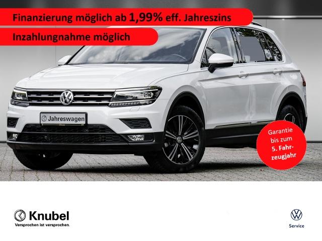 Volkswagen Tiguan Comfortline 2.0 TDI Fahrass+ Navi eKlappe, Jahr 2019, Diesel