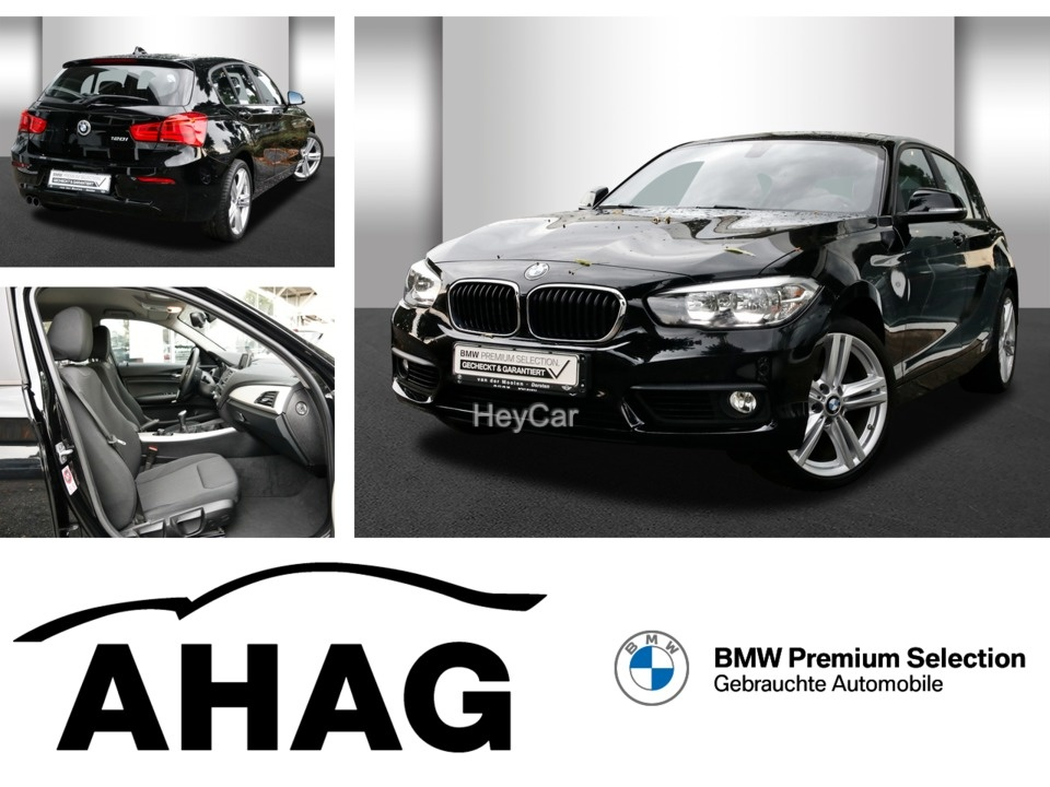 BMW 120i Advantage *PDC*Regensensor*Tempomat*, Jahr 2017, Benzin