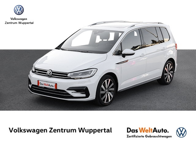 Volkswagen Touran 1 4 TSI R-LINE NAVI LEDER LED PANO STANDHZG, Jahr 2017, Benzin