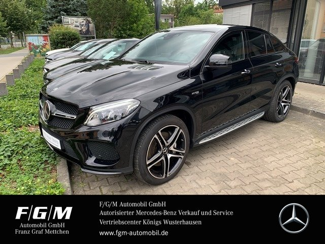 Mercedes-Benz GLE 43 AMG Com/ILS/KeyG/Standhzg/360/Mem/AHK/B&O, Jahr 2018, Benzin